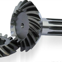 Hign precision helical conical gear manufacturer