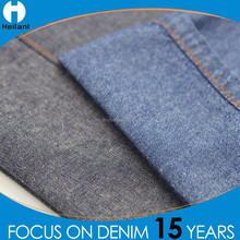 professional denim fabric supplier light 100 raw cotton fabric