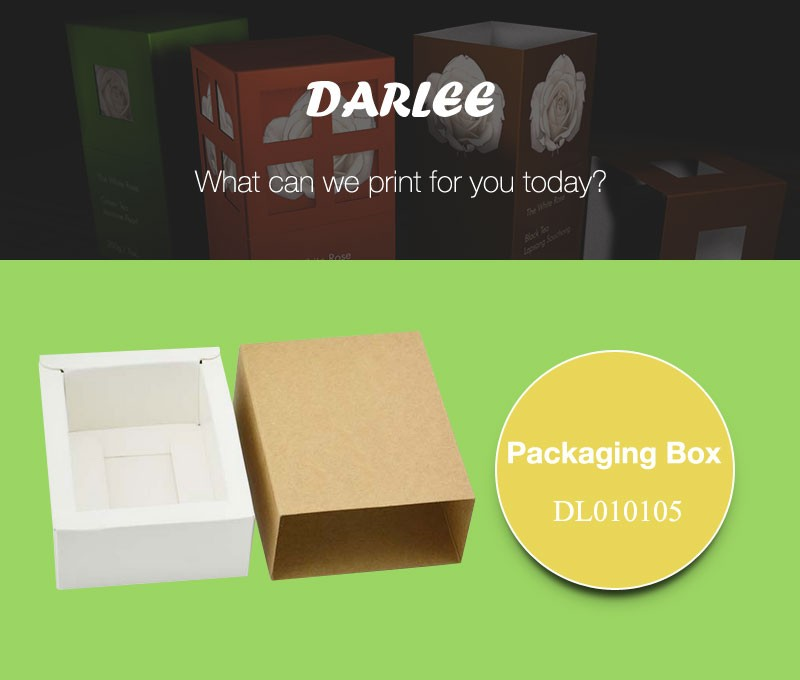 kraft paper slide box packaging
