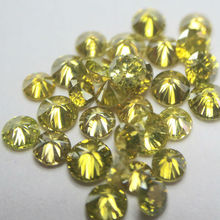 UpTo 0.10 Carat Size Natural Yellow color Diamonds Manufacturer
