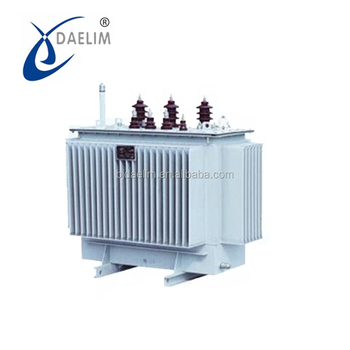Low noise high quality 10kv 1000 kva power distribution transformer