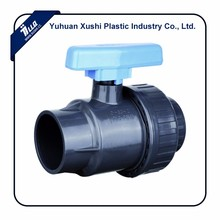 plastic PVC single union ball valve morocco tunisia algeria north africa valve