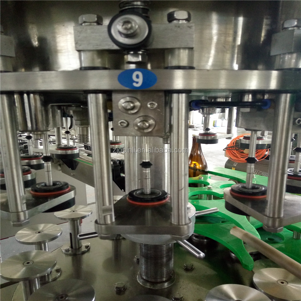 3 in 1 beer keg filling equipment/beer bottling machine/line CE certification