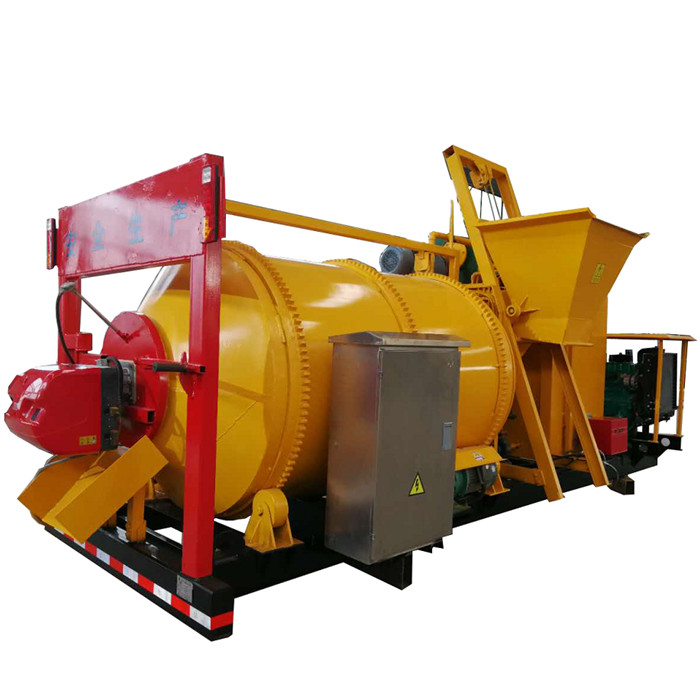 Best Price 1ton Mobile Asphalt Mixer Mini Asphalt Plant