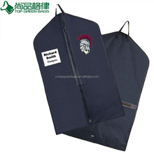OEM factory China zip lock oxford polyester foldable garment suit bag