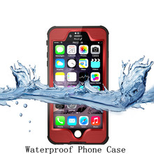 Waterproof Phone Case for Iphone 6 Plus, Waterproof Case for Iphone 6S Plus, For Iphone 6+ Waterproof Case