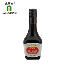 Bottle Packing 200ml FDA Top Quality Superior Light Soy Sauce