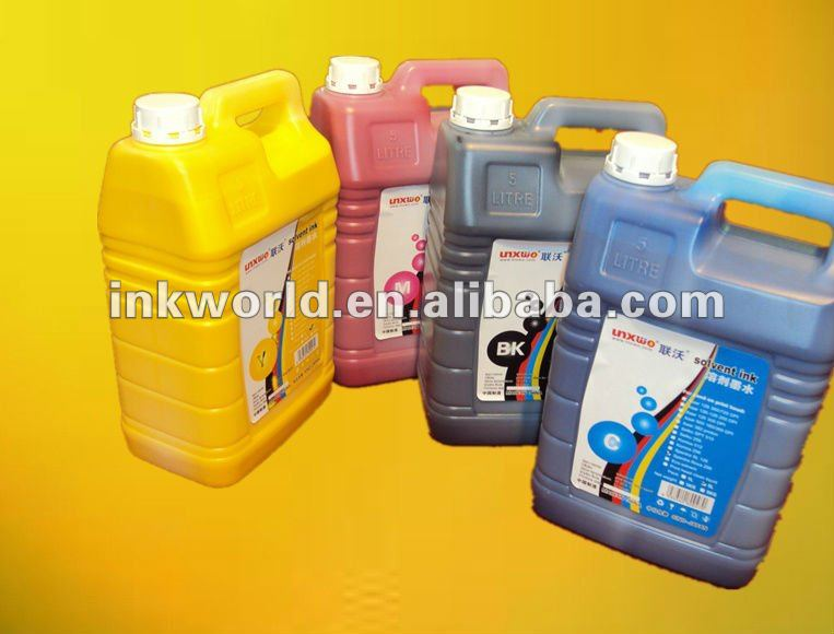 JHF Leopard A08 solvent ink (KM512LN(42pl) for outdoor banner/advertisement/PVC/light box/vinyl printing