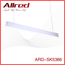 up down aluminium suspended 80w t5 linear led tube light price for supermarket