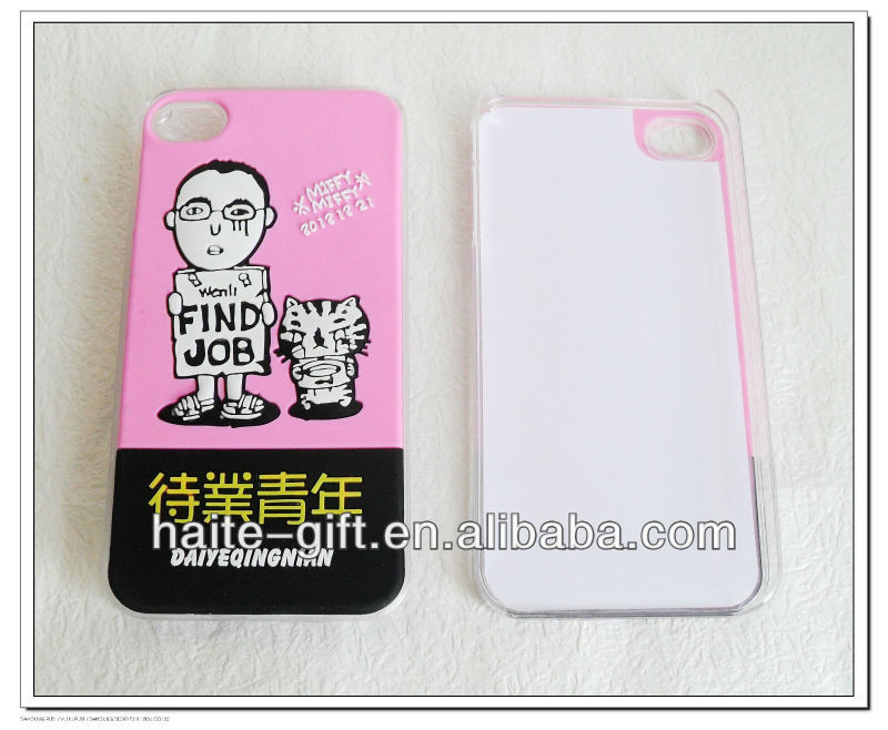 Silicon mobile phone back cover for iphone