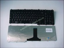 Black Notebook keyboard Laptop parts For Toshiba f501 g501 g50 a500 p505 l582 RU