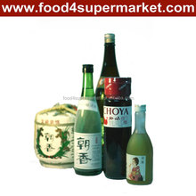 Japanese sake 750ml red color