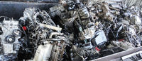 Scrap Aluminum Engines from Japanese Used Cars