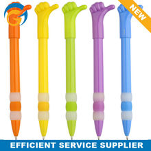 5 Color Hand Gesture Plastic Ball Pen