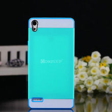 Multicolor Protective slim armor PC TPU snap-on combo case for Huawei Ascend P6 case