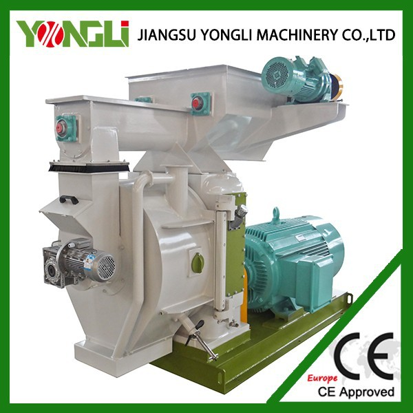 CE approved machines for making pellets for burning wood