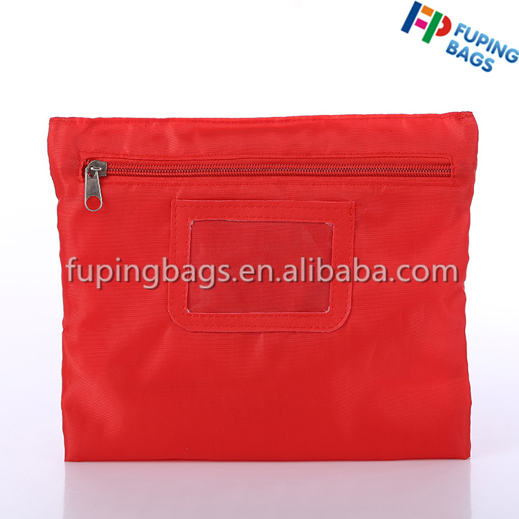 Wholesale polyester make up bag light cosmetic bag with zipper