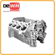 custommized whole custom die cast aluminum cylinder block for auto part
