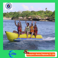 Best sale inflatable banana boat, high quality used inflatable boats for sale