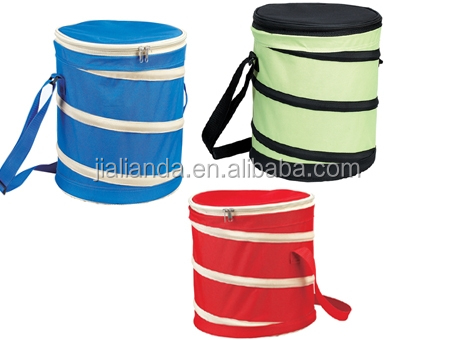 Barrel cooler bag for outdoor camping JLD08319