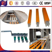 crane/ hoist unipole PVC shell alluminum electric bus bar system