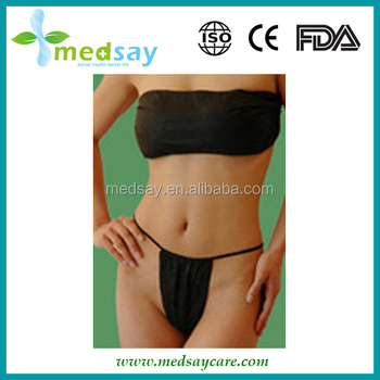 Disposable PP non woven massage bikini sets