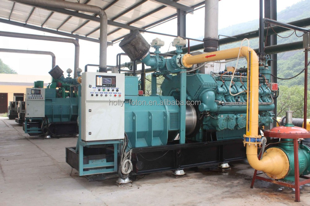 Good quality biogas generator / methane gas generator from 50KW to 1700 KW with CE certificate
