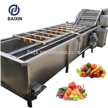 2017 hot new products ginger cleaner buyers automatic Brush cleaning washing machine garlic processing line manufacture