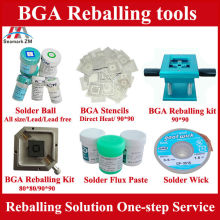 bga reballing stencils holder for laptop motherboard computer complete tools