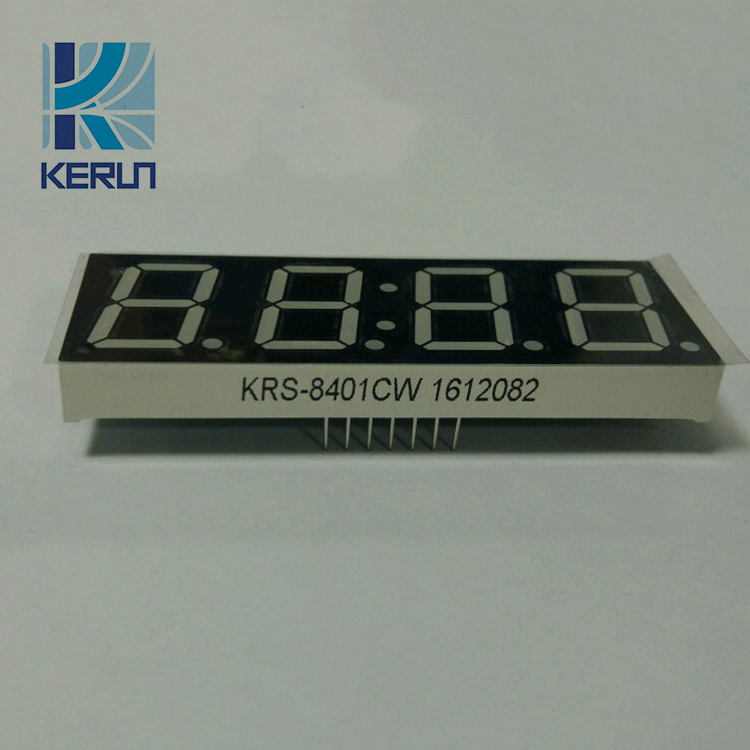 Customized common anode cathode 0.8 inch 4 digit large 7 segment led display