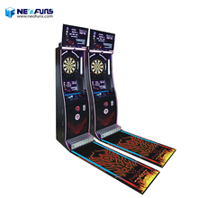 New arrival global networking indoor coin operated dart boards game machine for bar