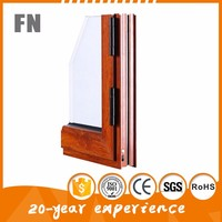 China factory high Precision weight of aluminium window sections