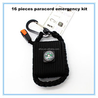 Emergency 550 paracord survival kit wholesale