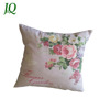 Vintage Garden Spring Flower Photo Print Poly Linen Cushion Covers