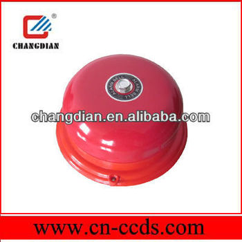 4 inch industrial fire alarm bell 220vAC