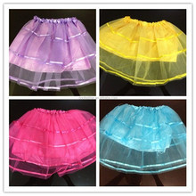 PM-137 Wholesale children princess skirt girl gauze ballet skirts dress