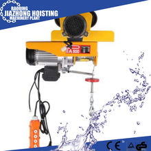 mini electric wire rope hoist with fast delivery