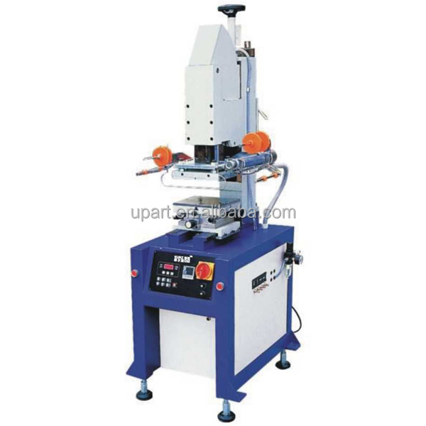 automatic leather and pu heat transfer sticker printing machine