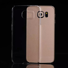 Slim Transparent Clear TPU Crystal Cell Phone Case For Samsung Galaxy S6