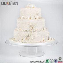 Plexiglass tier round acrylic wedding party cupcake tower stands