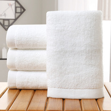 Cheap price 32s/2 100% cotton 70x140cm white terry towel factory in guangzhou