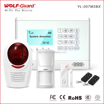 99 zones GSM Home alarm wireless security system for home safety protection