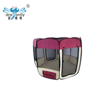 Euro Quality ! Folding pet tent / waterproof pet dog playpen with 8 panels