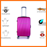 motorized open and close rainproof louvered luggage