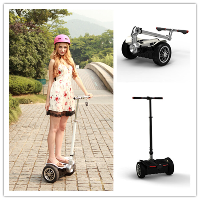 Promotional weightlight electric scooter,Big wheel mini motorized scooter