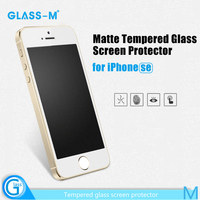 Free sample anti-glare screen protector for iPhone SE mobile phone