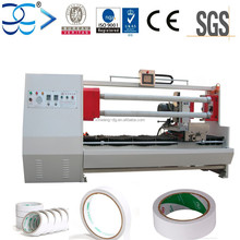 Automatic Double Shafts Roll Foam Tapes Slitter Machine