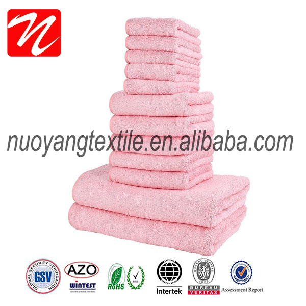 Girl terry towel weaving machine terry towel quick dry with mesh bag
