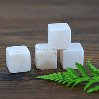 High Quality stone ice cube, Square shape natural soapstone, Whiskey Stone