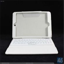 Folio silicone case with bluetooth keyboard for ipad air keyboard case